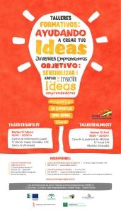 Cartel Ayudando a Crear tus Ideas